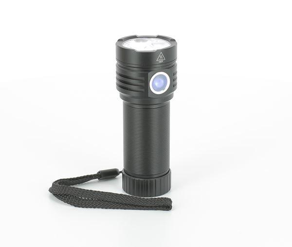Ledsavers Laddningsbar ficklampa 3300 lm LED ficklampor