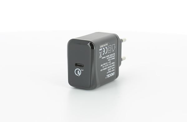 Linocell 18 W USB C laddare med PD 3.0 och QC 4+