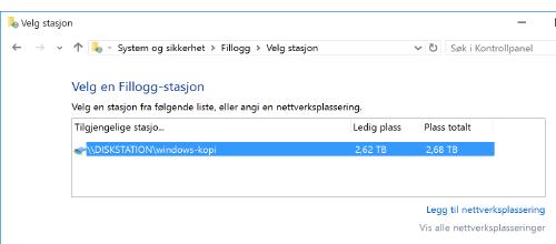 Fildeling over et nettverk i Windows 10