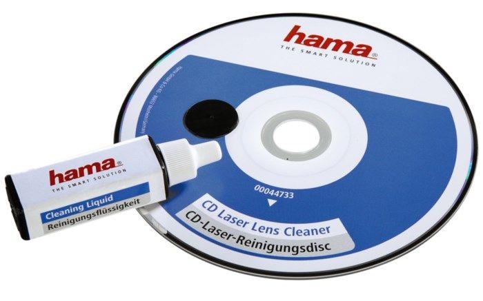 Hama CD-våtrengöring för lins