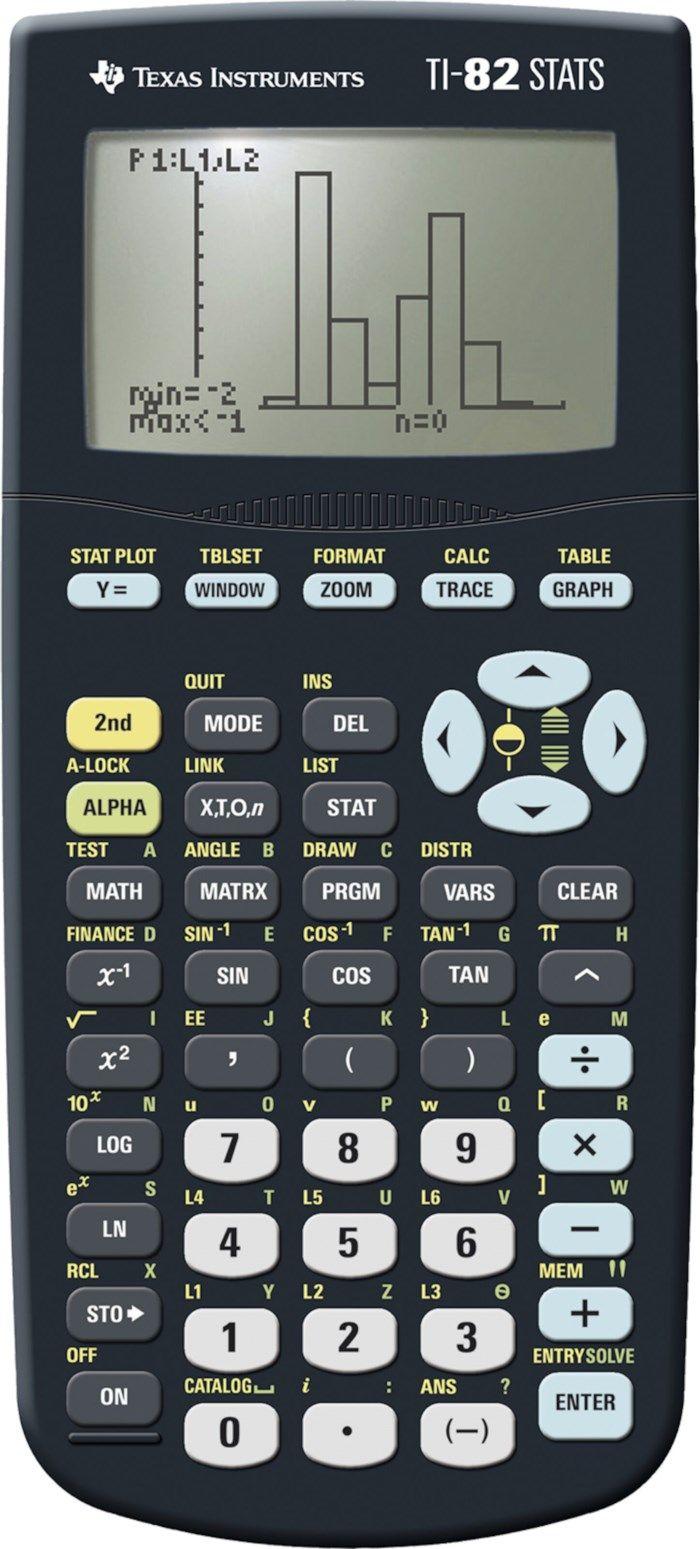 Texas Instruments TI-82 Stats Miniräknare