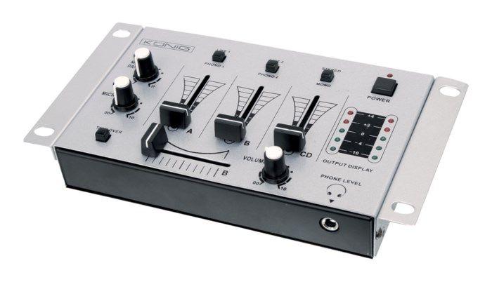 3-kanals mixerbord