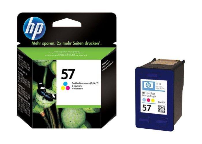 HP 57 Bläckpatron Flera färger