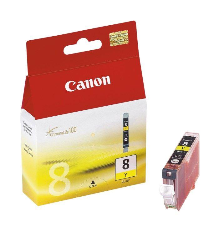 Canon CLI-8Y Bläckpatron Gul