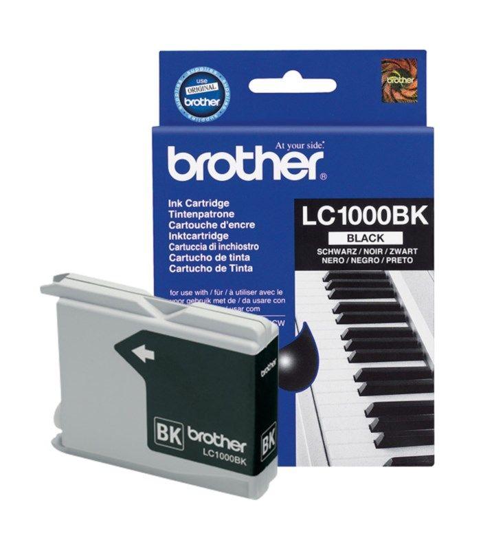 Brother LC1000BK Bläckpatron Svart