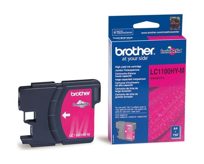 Brother LC1100M Bläckpatron Magenta