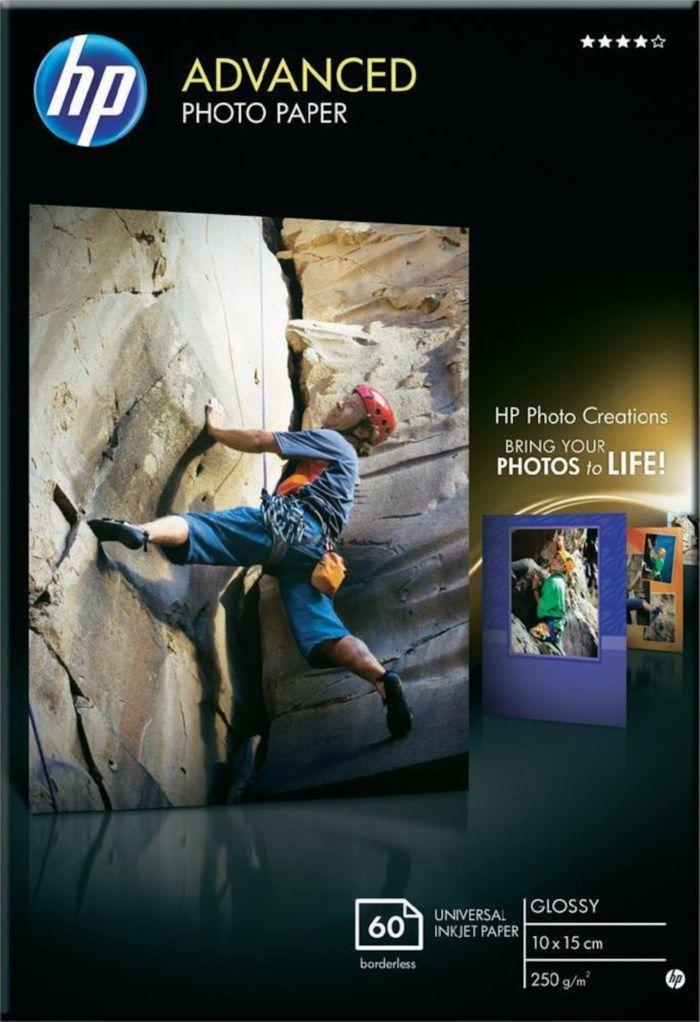 HP Advanced Fotopapper 10x15 cm 60-pack