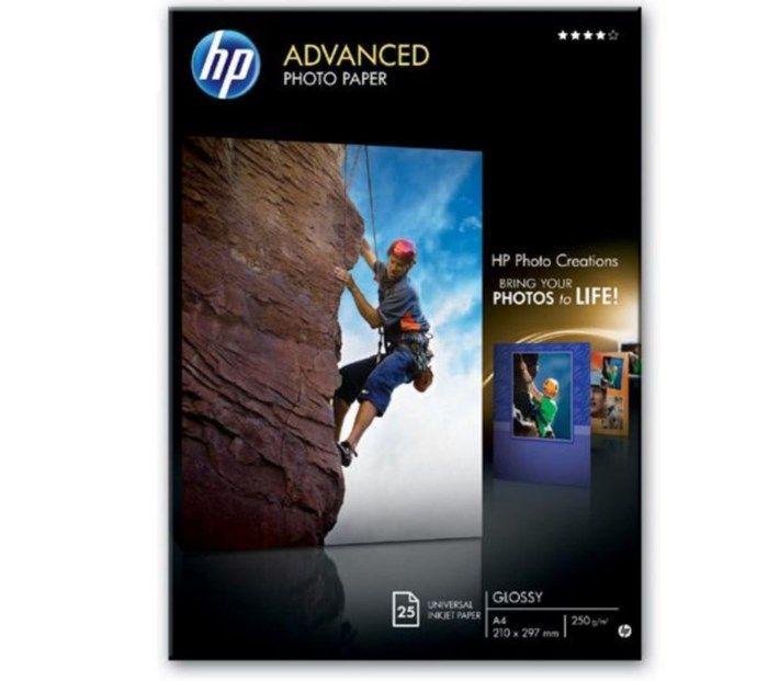 HP Advanced Fotopapper A4 25-pack