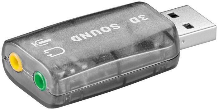 Plexgear USB-ljudkort för PC