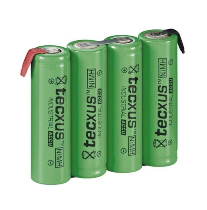 NiMH2 4xAA-batteri 4,8 V 2100 mAh