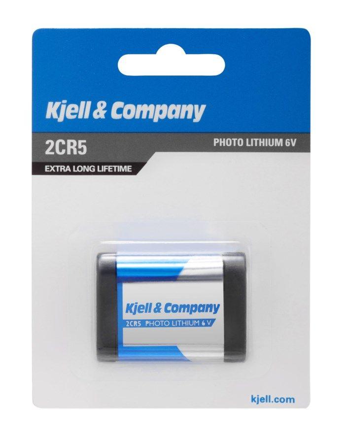 Kjell & Company 2CR5 Litiumbatteri