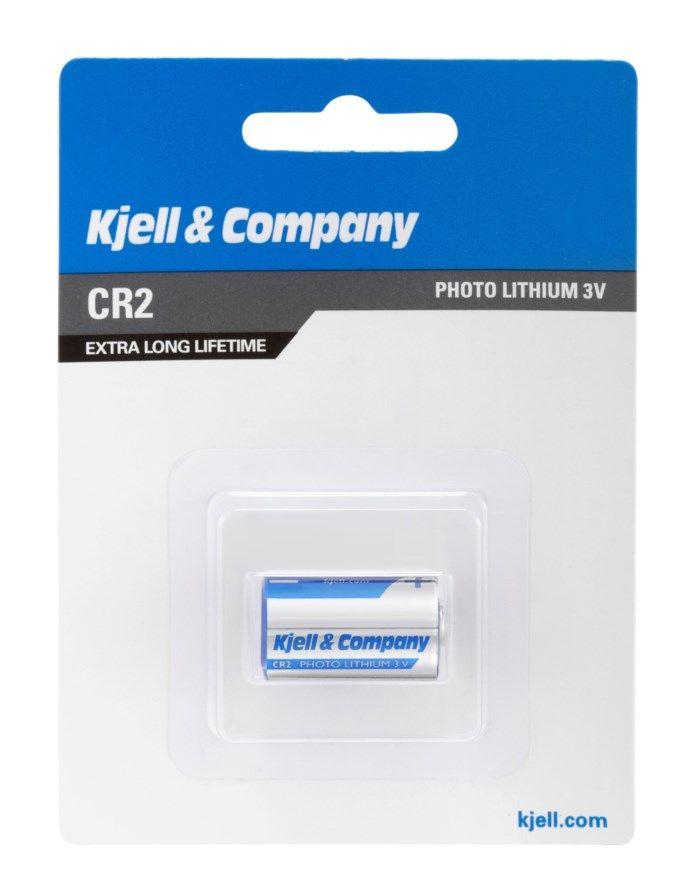 Kjell & Company CR2 Litiumbatteri
