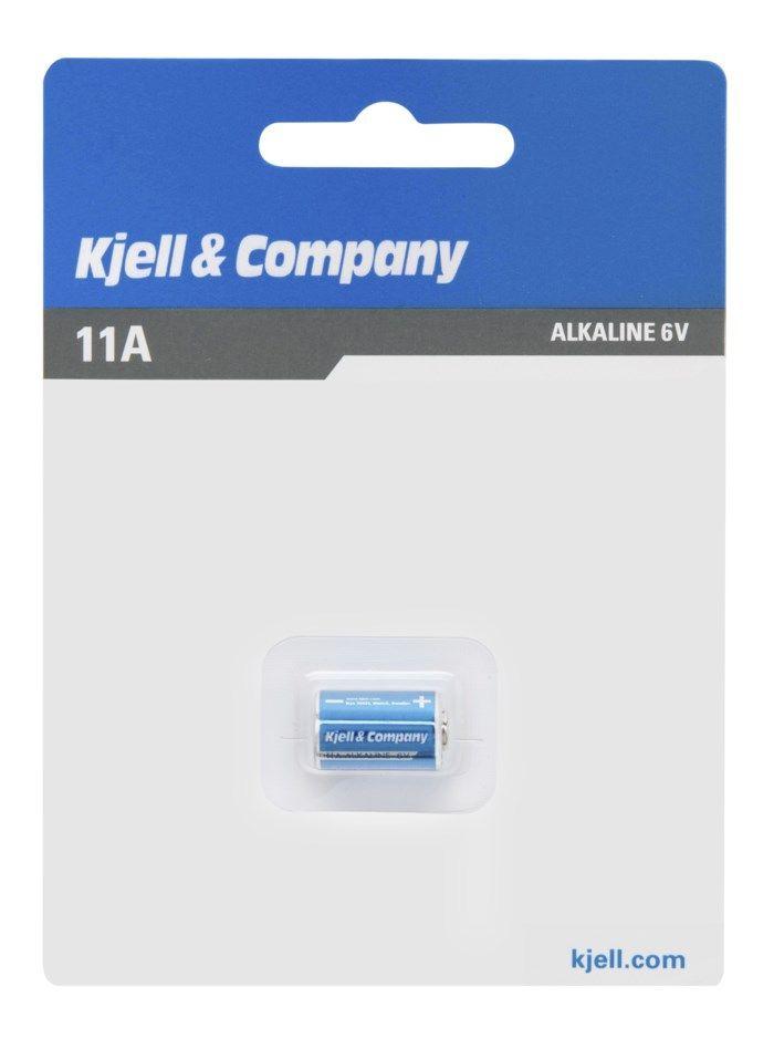 Kjell & Company Alkaliskt 11A-batteri (LR-11A)