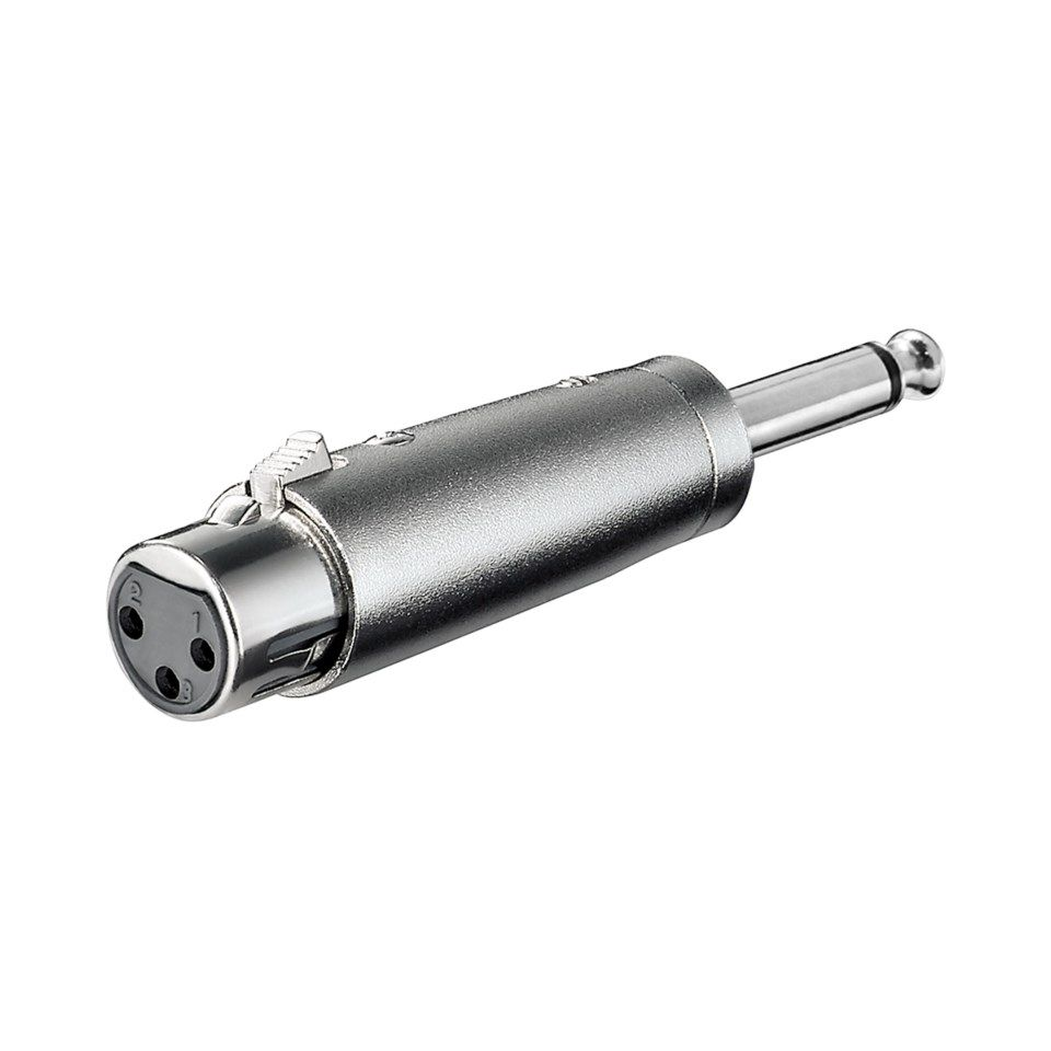 Adapter-XLR-hunn til 6,3 mm-hann