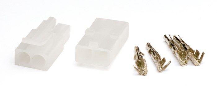 Kontaktpar med snäpplås 2-poligt