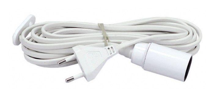 Lamphållare E14 med kabel
