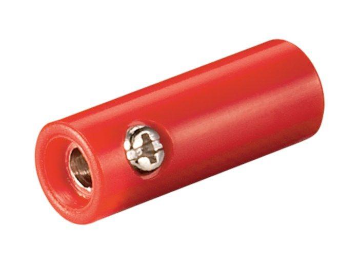 4 mm-labbhylsa Röd