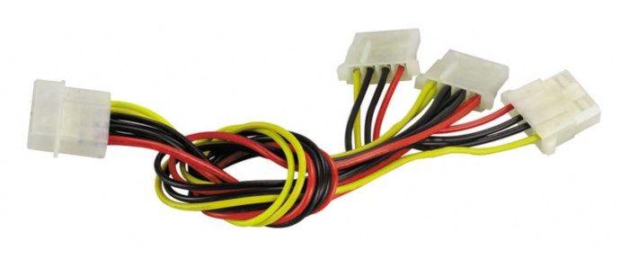 Förgrening 4-pin Molex 3-vägs