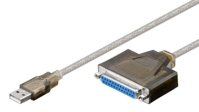 Adapter USB till parallell 1,5 m
