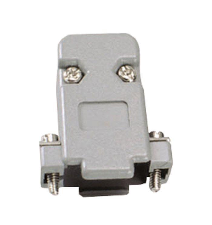 Kåpa till lödbara kontakter DB9/HD15