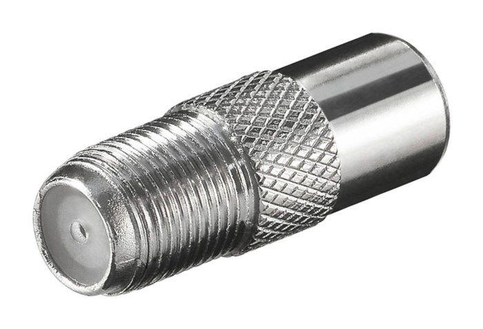Adapter F-hona till antennhane
