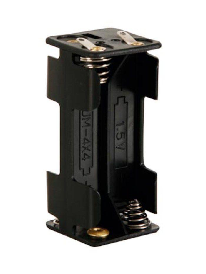 Batterihållare för 4x AAA