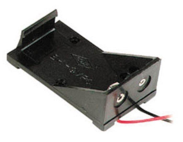 Batterihållare för 9 V
