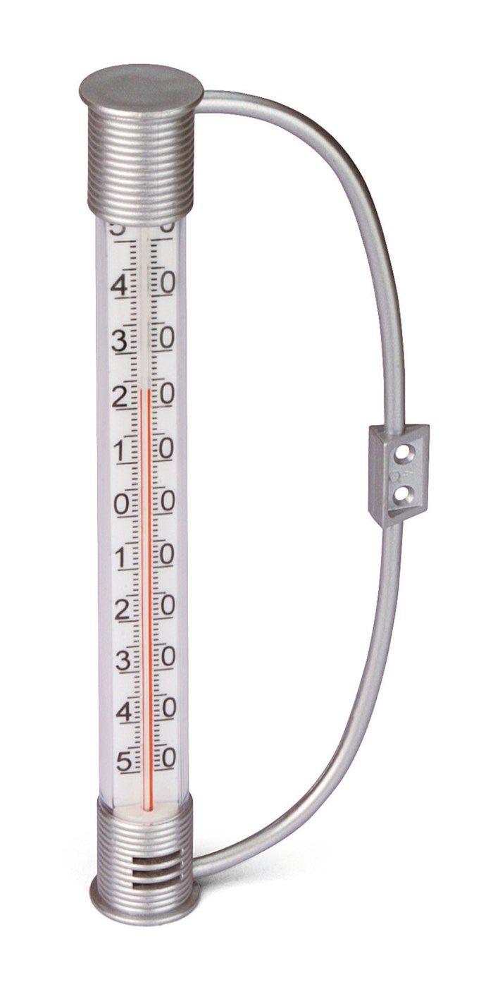 Analog utomhustermometer