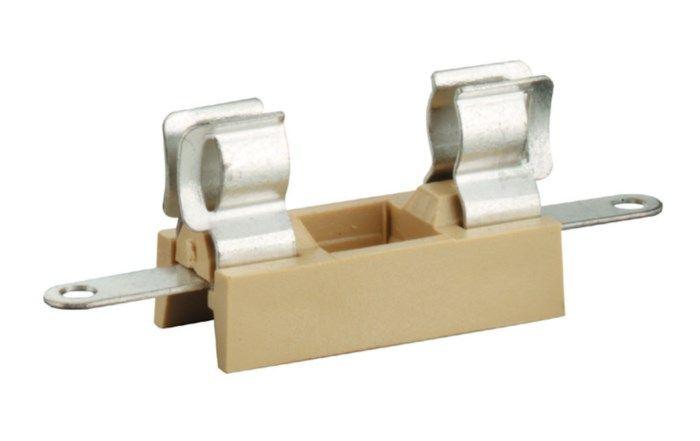Säkringshållare för chassimontage 5x20 mm