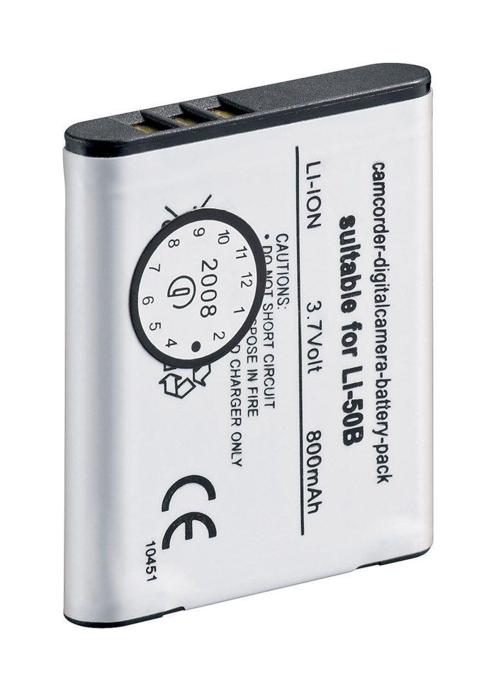 Kamerabatteri typ Olympus Li-50B/Li-50D