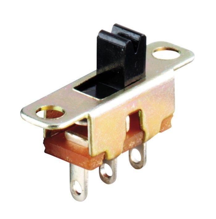 1-polig strömbrytare Till-till 100 mA