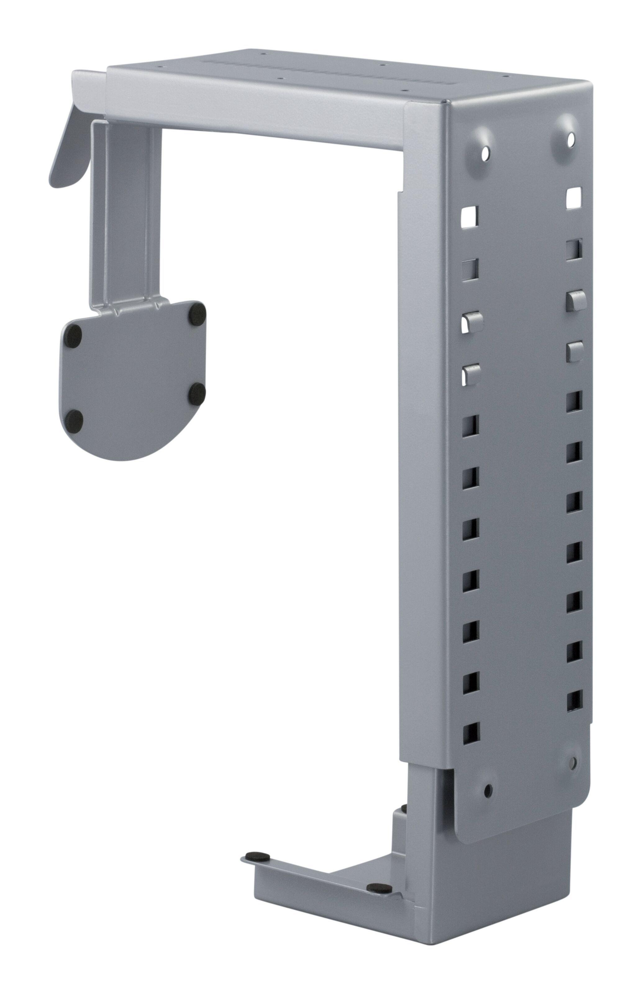 Datorhållare för montering i bord eller vägg Silver