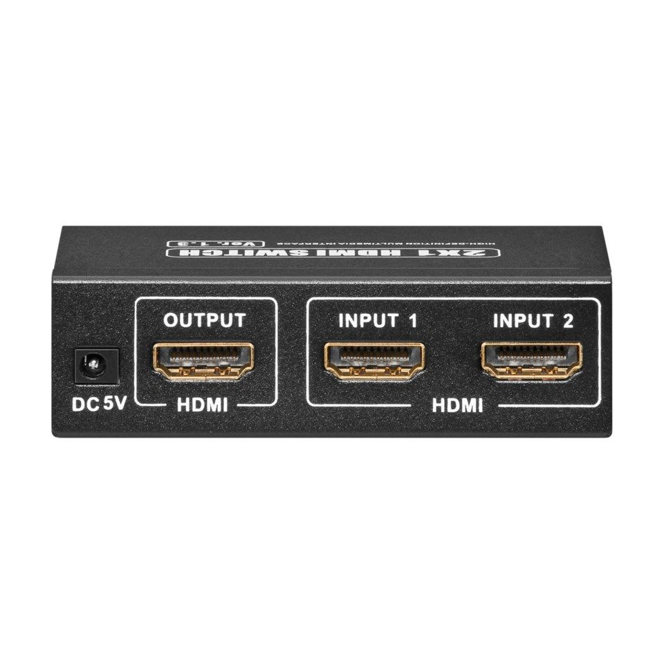 Automatisk HDMI-switch 2-vägs