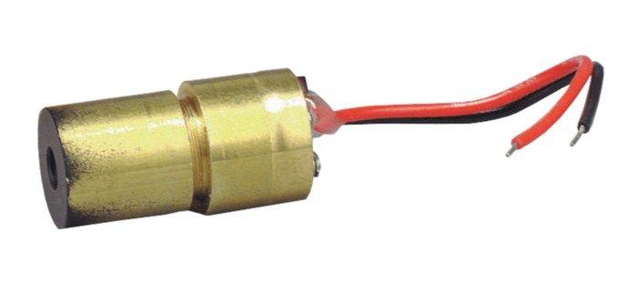 Röd lasermodul 2,5 mW