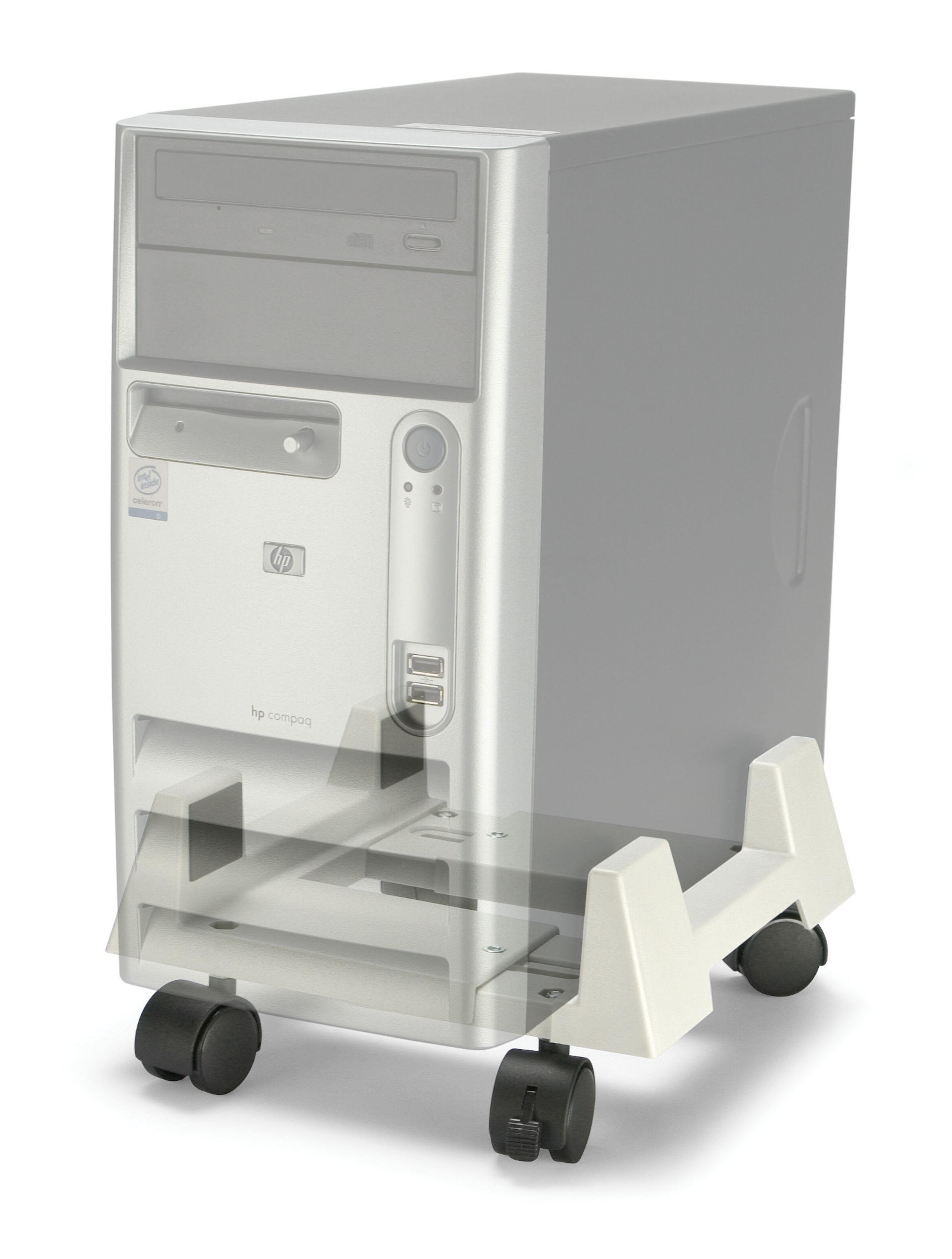 Datorhållare med spännband Datorhållare |