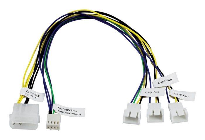 Adapterkabel för datorfläktar