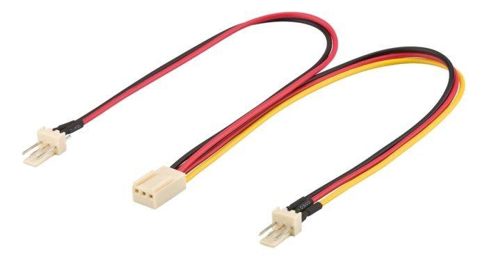 Grenkabel för datorfläktar 3-pin