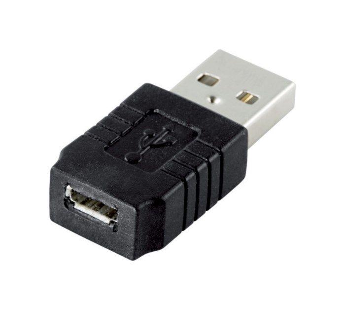 Adapter USB-hane till Micro-USB-hona
