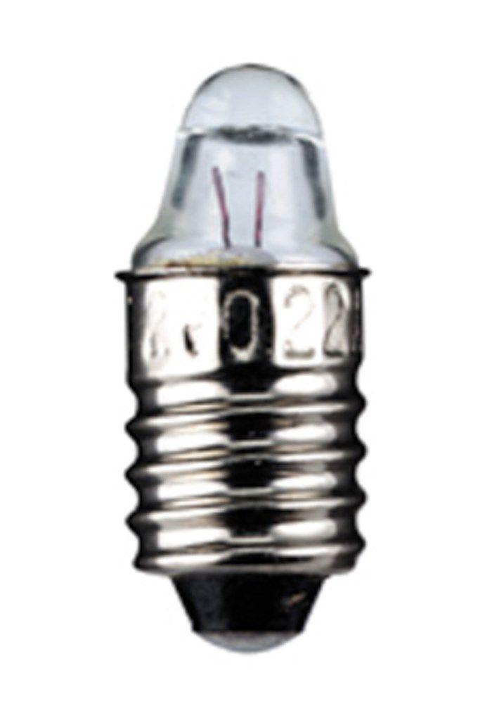 Glödlampa med lins E10 2,5 V 0,3 A