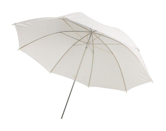 Transparent paraply för foto