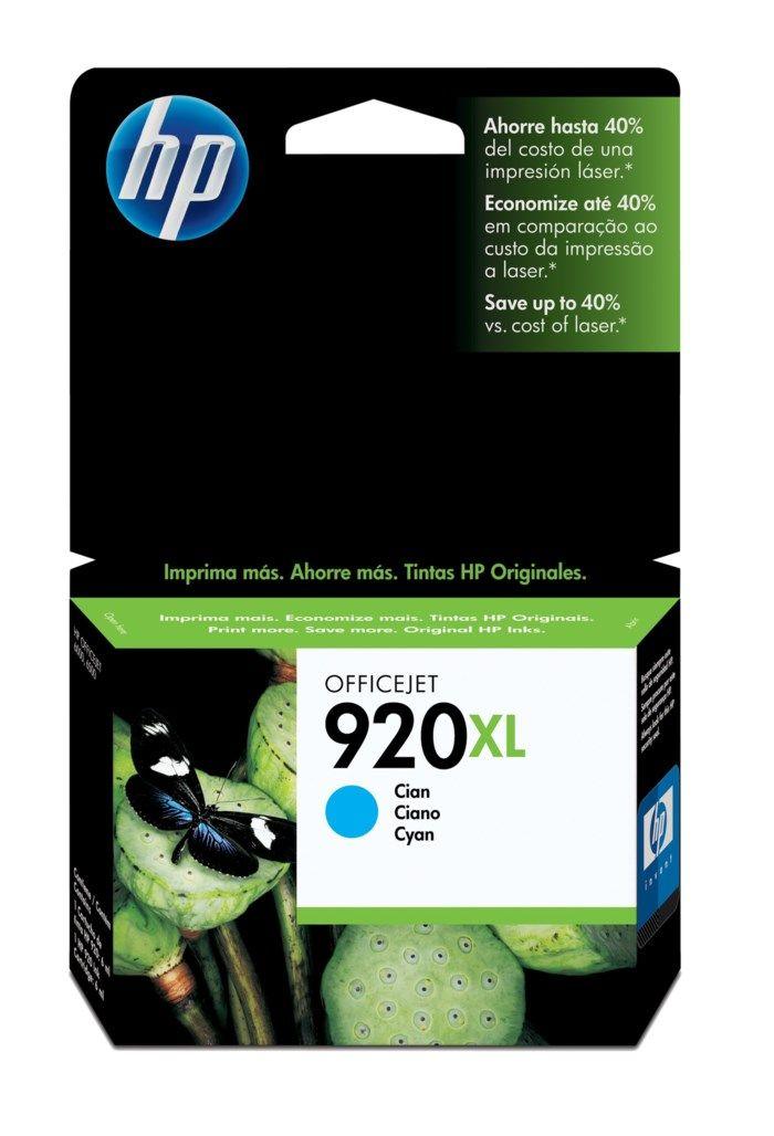 HP 920XL Bläckpatron Cyan