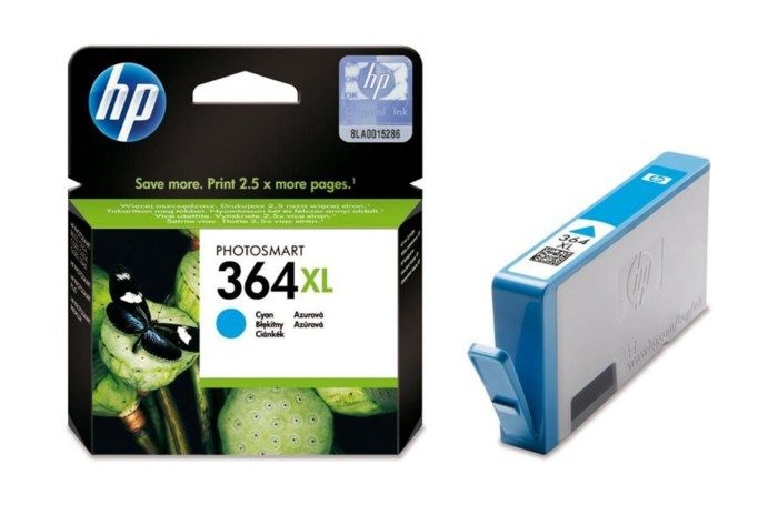 HP 364XL Bläckpatron Cyan