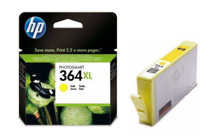 HP 364XL Bläckpatron Gul