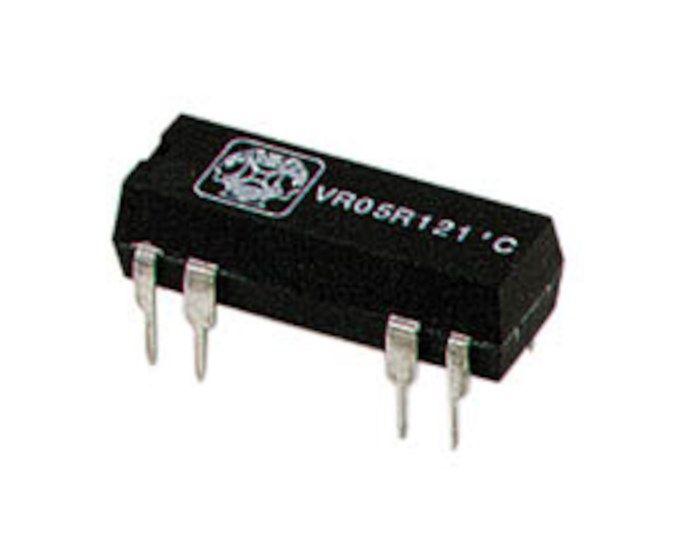 1-poligt DIL-relä 12 V DC 0,5 A / 30 V