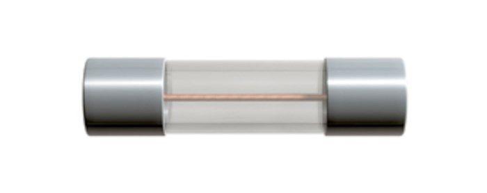Glasrörssäkring 5x20 mm 400 mA Trög (T)