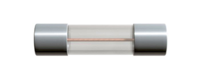 Glasrörssäkring 5x20 mm 2,5 A Snabb (F)