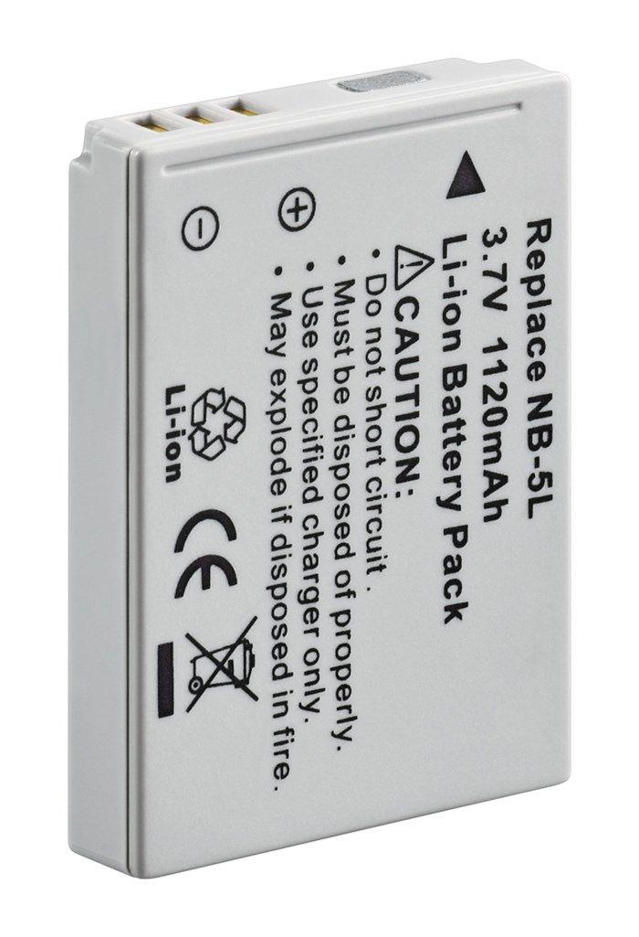 Kamerabatteri typ Canon NB-5L