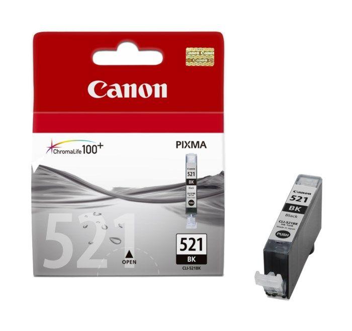 Canon CLI-521BK Bläckpatron Svart