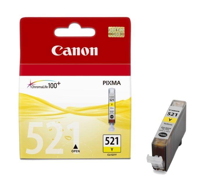 Canon CLI-521Y Bläckpatron Gul
