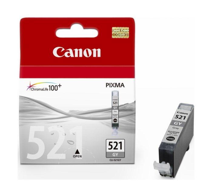 Canon CLI-521GY Bläckpatron Grå